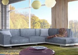 γωνιακός καναπές leone
