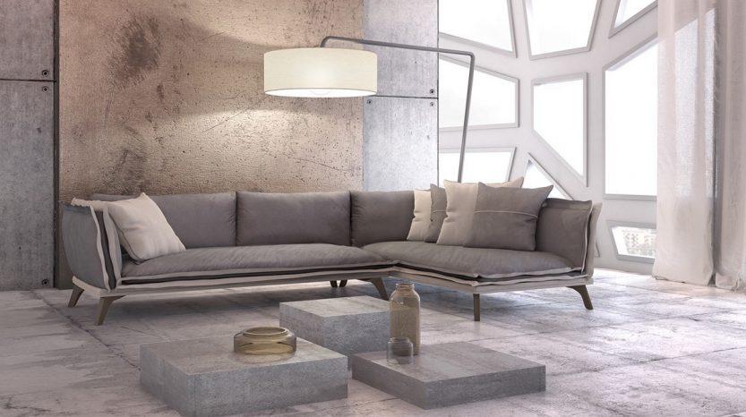 γωνιακός καναπές amadeo