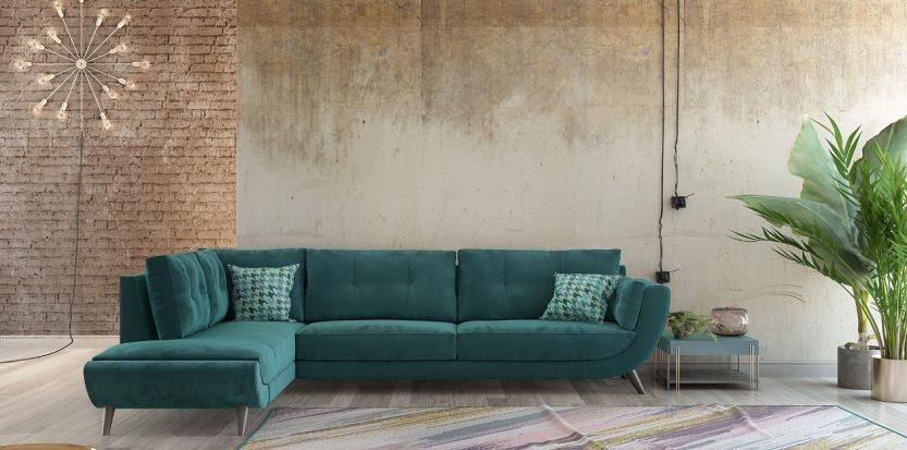 γωνιακός καναπές planet