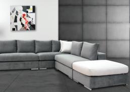 γωνιακός καναπές melina
