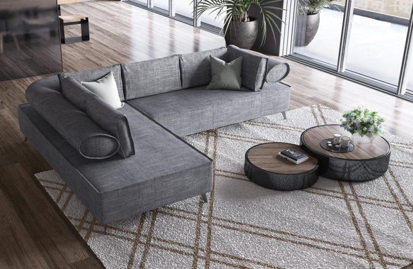 γωνιακός καναπές Andros