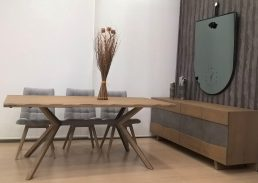 dining table steel