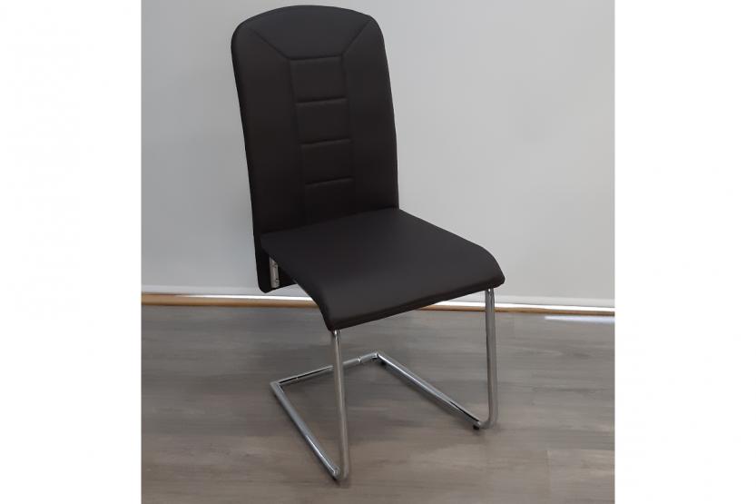 καρέκλα κ1478 με μεταλλική βάση