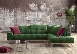 γωνιακός καναπές milan